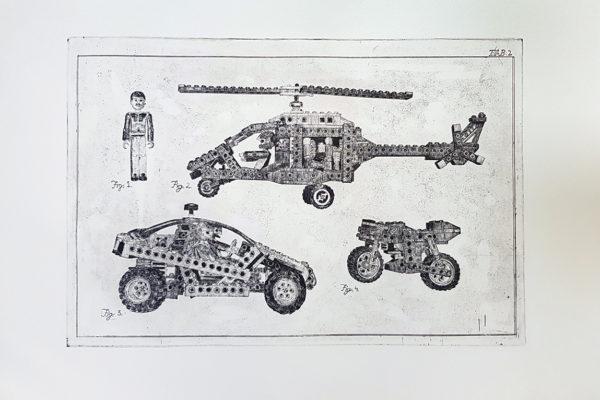 GRAFIKA LEGO TEHNIC mala
